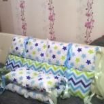 Комплект в кроватку+ конверт на выписку, Новосибирск