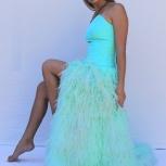 Платье из перьев напрокат, Новосибирск