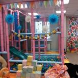 Большой лабиринт с бассейном из шариков ,батут,игрушки, Новосибирск
