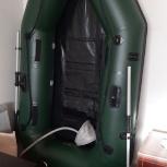 Продам ПВХ лодку с мотором СССР Салют ЭС, Новосибирск