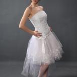 Коротенькое свадебное платье, Новосибирск