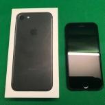 Смартфон Apple iPhone 7 32gb black, Новосибирск