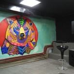 Роспись стен, Новосибирск