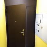 Двери металлические входные, тамбурные., Новосибирск