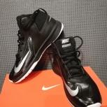 Кроссовки подростковые Nike Team Hustle D 7 черные, Новосибирск