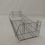 Продам стеллаж сетчатый металлический, б/у, Новосибирск