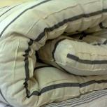 Матрас ватный подушки для строителей, отделочников, дома, дачи, лагеря, Новосибирск