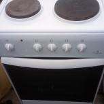 Продам электро печь 4 комфорки духовка, Новосибирск