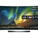 Новый ТВ  55'' (139см) LG OLED55C6V OLED 3D SMART Wi-Fi 4K DVB-T2, Новосибирск