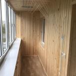Отделка балконов лоджий, прихожих,бань!, Новосибирск