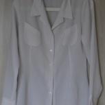 Блузка белая новая, р-44(46), Новосибирск