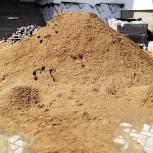 Щебень, песок, ПГС, отсев, земля, торф, перегной, глина и пр., Новосибирск