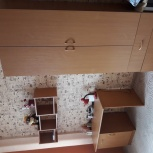 Продам стол письменный, полочки, шкаф, Новосибирск