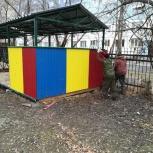 Заборы; беседки; навесы под авто, Новосибирск