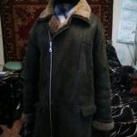 Продам мужскую дубленку р.52-54, коричневую, в хорошем состоянии, Новосибирск
