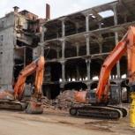 Демонтаж зданий, сооружений, домов, металлоконструкций, Новосибирск