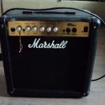 гитарный комбоусилитель - marshall mg series 15 cd, Новосибирск