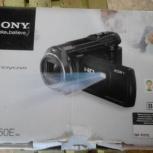Продаю видеокамеру сони 650 новую с проктрор жк экран, Новосибирск