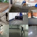 Заливка бетона, Бетонный пол. Стяжка пола. Топпинг, Новосибирск