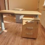 Мебель для офиса (письменный стол с тумбой), Новосибирск