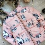 Новая нежно розовая демисезонная куртка для девочки, Новосибирск