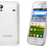 Смартфон Samsung Galaxy Ace GT-S5830 White, Новосибирск