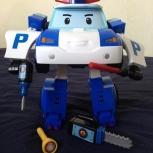 Продам игрушку робот-трансформер Поли Робокар на радиоуправлении., Новосибирск