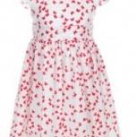 Платья для девочки розовое и сине-белое, Новосибирск