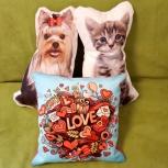 Подарочные декоративные подушечки, Новосибирск
