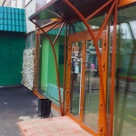 Козырек над входом, Навес, Козырек входной, Новосибирск