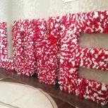 Продам буквы для праздников,фотосессий., Новосибирск
