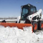 Минипогрузчик для уборки снега, Новосибирск