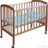 Кроватку детскую Фея 303 (медовый) с матрасом в идеальном состоянии, Новосибирск