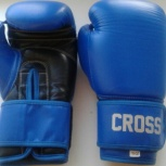 Перчатки боксерские Сross Comp 1N (10oz, нат.кожа, Пакистан) Новые!, Новосибирск