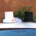Свадебные шляпы на машину, Новосибирск
