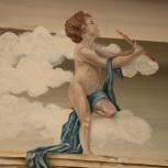 Аэрография, художественная роспись стен, живопись, барельеф, Новосибирск