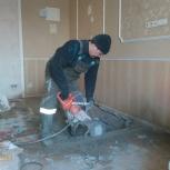 Алмазная резка, усиление проемов, демонтаж, Новосибирск