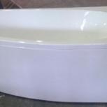 Дива ванна акриловая асимметричная Aquatek 170х90 см, Новосибирск