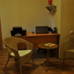 Стол эргономичный правый с тумбой для дома и офиса, Новосибирск