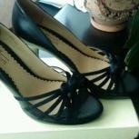 Новые туфли р-р 37-38 из нат. кожи, Новосибирск
