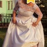 свадебное платье 48-52, Новосибирск