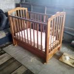 кроватка детская береза, Новосибирск