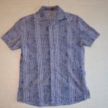 Рубашка сиреневая с узором, Новосибирск