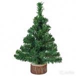 Настольная елка Малютка 20 см, пвх (оптом), Новосибирск