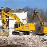 Демонтаж частных домов, зданий и сооружений, Новосибирск