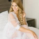 Аренда свадебный пеньюар, будуарное платье, кружевной халат, Новосибирск