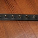Новый кожаный ошейник, сделан в USA, На ОШ от 39-49 см, Новосибирск