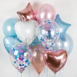 Воздушные шары и оформление шарами, Новосибирск