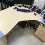 Стол офисный модульный угловой, Новосибирск