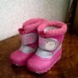 Зимние ботинки детские, р-р 21, Новосибирск